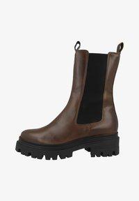 Tamaris - Platform boots - cognac leather - 0
