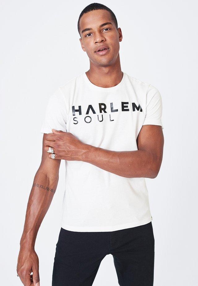 MEL-BOURNE - Print T-shirt - white