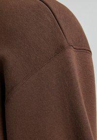 Bershka - OVERSIZED - Sweatshirt - brown - 5
