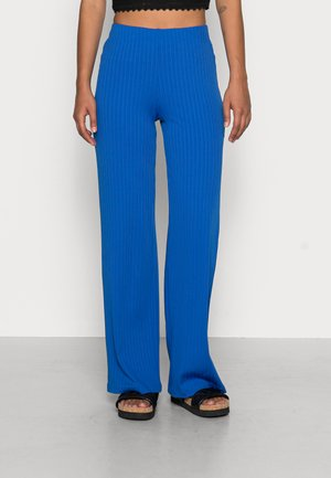 EDIT TROUSERS - Trousers - blue lolite