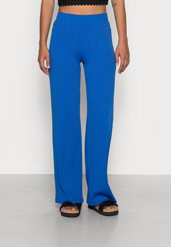 EDIT TROUSERS - Pantaloni - blue lolite