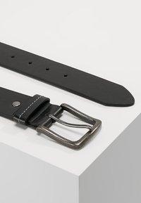 Burton Menswear London - JEANS BELT - Cinturón - black - 2