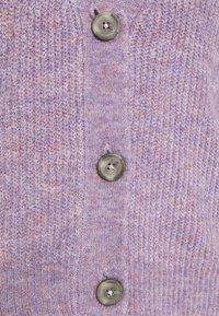 JDY - JDYDREA - Cardigan - lavender gray melange - 8