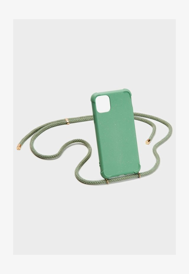 BIODEGRADABLE IPHONE 11 - Phone case - green/gold