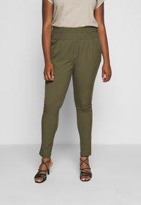 Kaffe Curve - PANTS - Trousers - grape leaf - 0