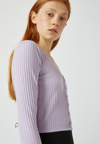 PULL&BEAR - Kardigan - purple - 2
