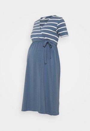 MLMADELLEINE DRESS - Jersey dress - snow white