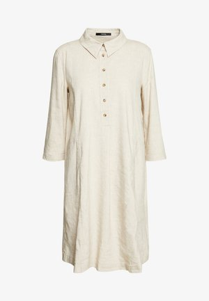 QUYNH STRUCTURE - Shirt dress - stone