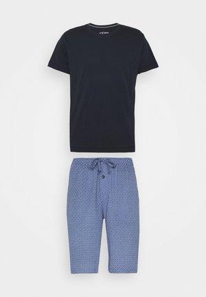 SET - Pyjama set - dark blue/blue