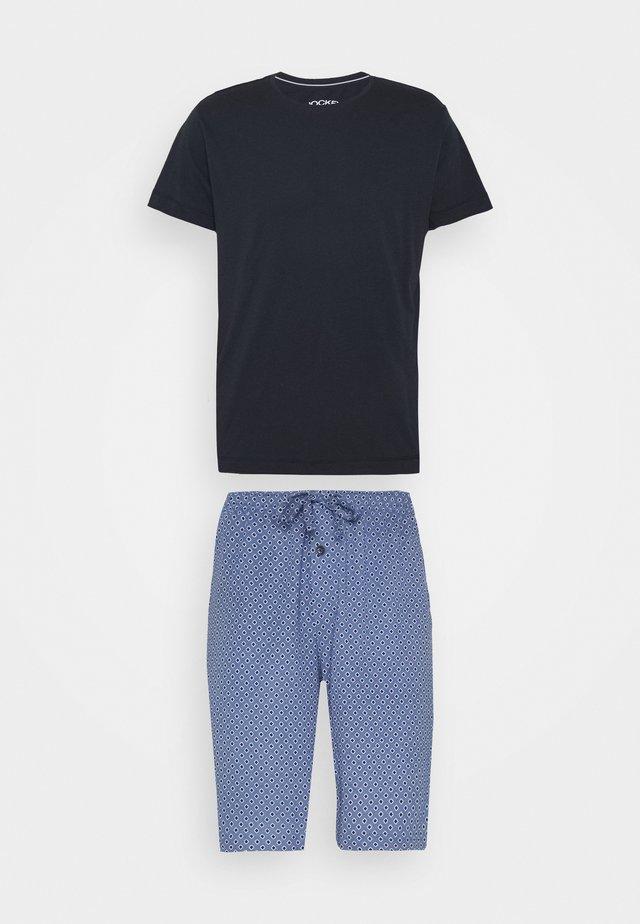 SET - Pyžamová sada - dark blue/blue