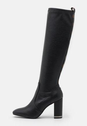 DARLENE - High heeled boots - black