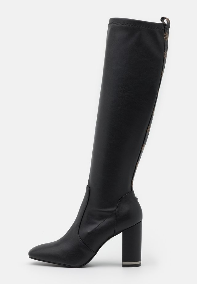 DARLENE - High heeled boots - black