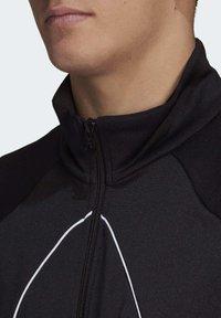 adidas Originals - BIG TREFOIL OUTLINE TRACK TOP - Training jacket - black - 5