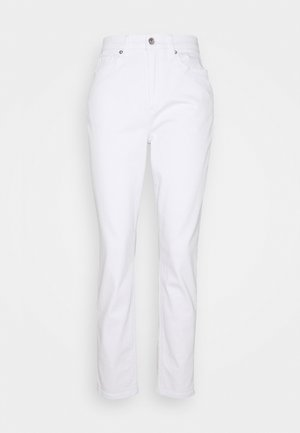 CURVY MOM - Vaqueros slim fit - white