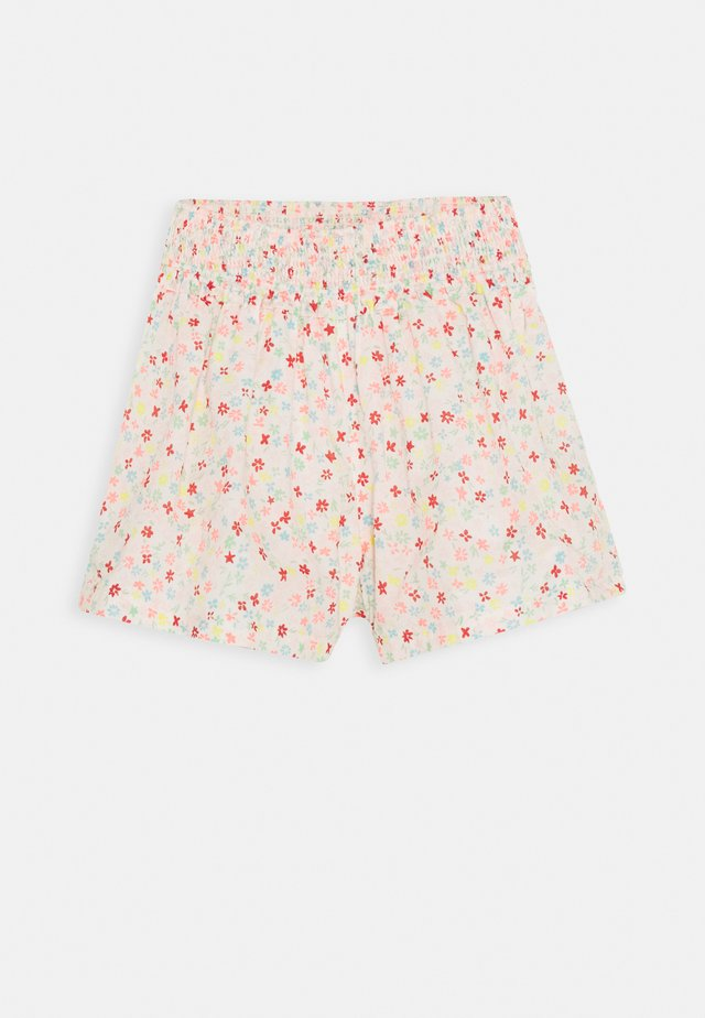 DITZY FLORAL SMOCKED - Shorts - ivory