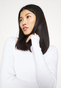 GAP - BATEAU - Long sleeved top - fresh white - 4