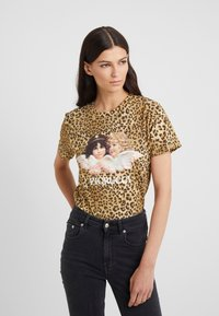 Fiorucci - VINTAGE ANGELS TEE  - T-shirt con stampa - brown - 0