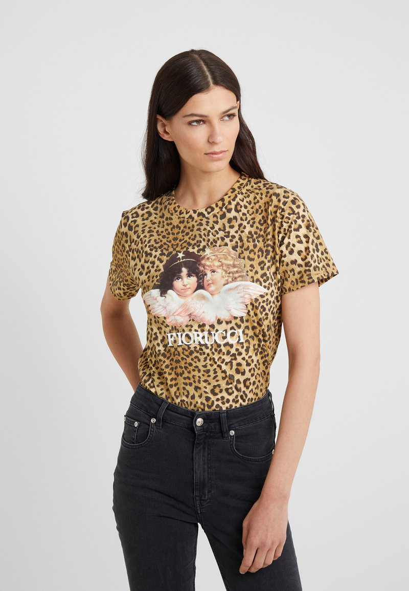 Fiorucci - VINTAGE ANGELS TEE  - T-shirt con stampa - brown
