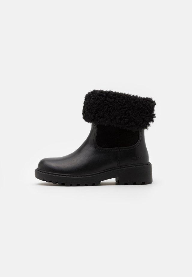 CASEY GIRL WPF - Støvletter - black