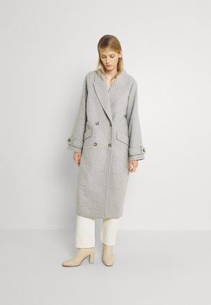 CHANTAL JACKET - Classic coat - grey melange