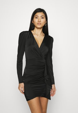 CHARMIAN DRESS - Jersey dress - jet black