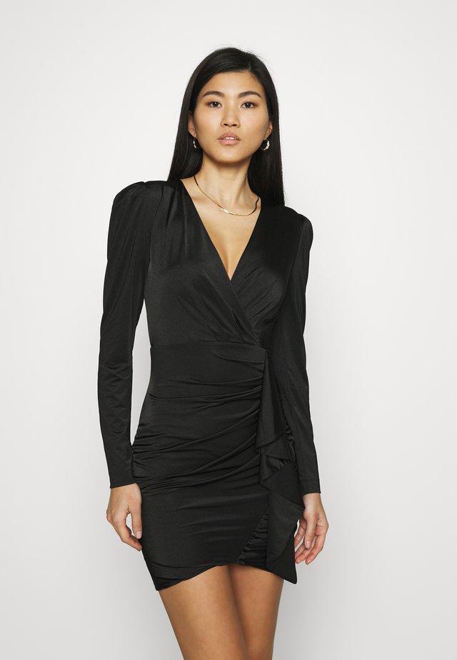 CHARMIAN DRESS - Jerseyjurk - jet black