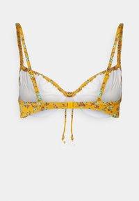 watercult - EARTHBOUND DITSIES - Bikini top - golden harvest - 1