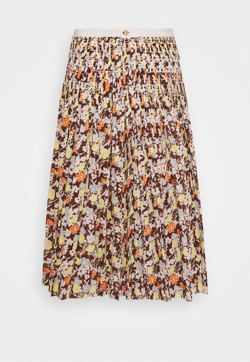 Tory Burch - PLEATED TIE WRAP SKIRT - Pleated skirt - reverie