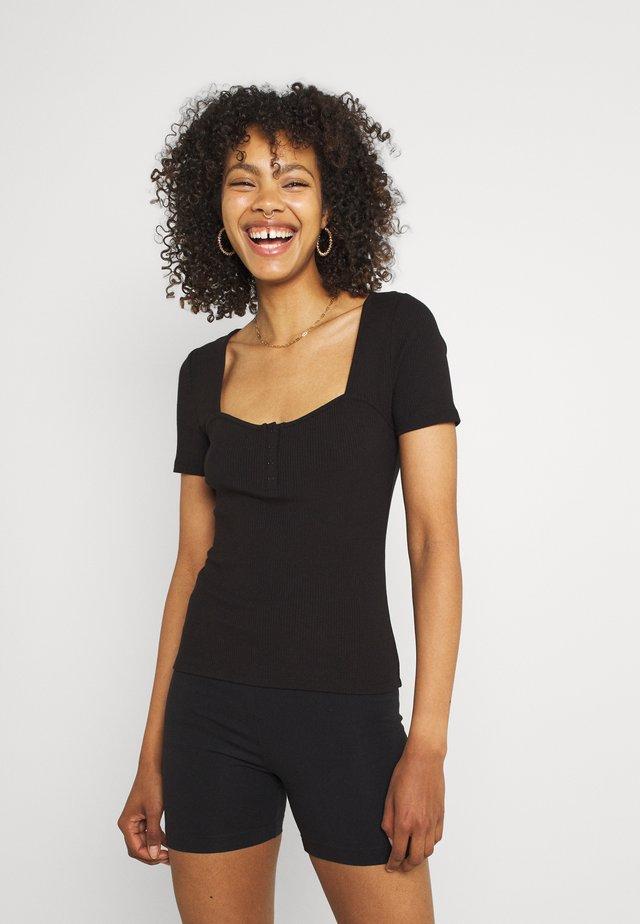 STEPHEN SWEETHERAT TEE - Print T-shirt - black