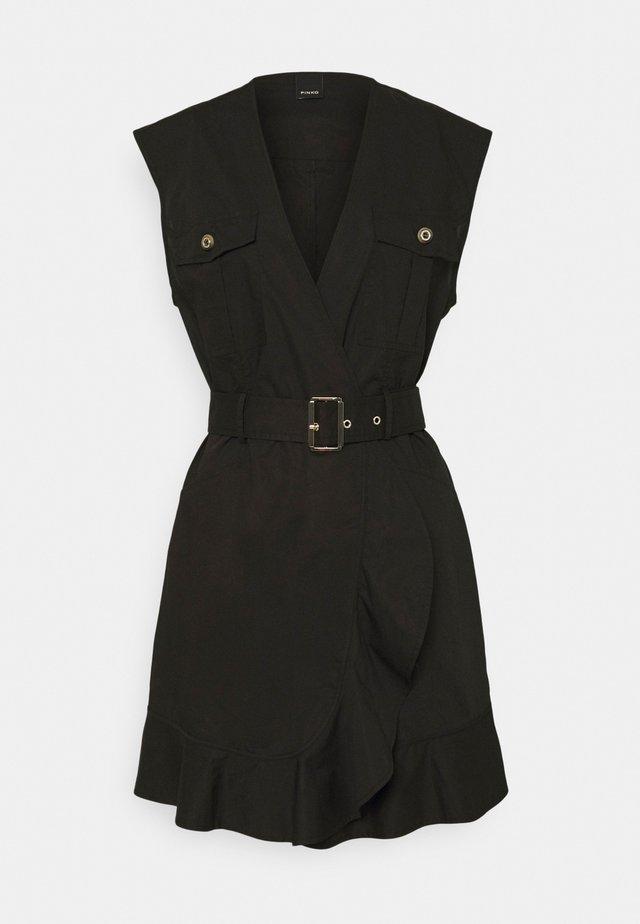 ATTIVO ABITO PESANTE - Korte jurk - black