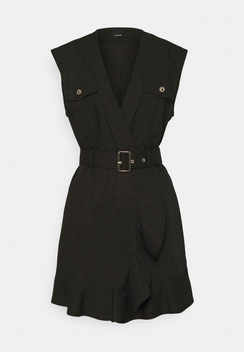 Pinko - ATTIVO ABITO PESANTE - Denní šaty - black