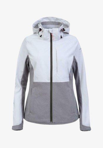 BETHUNE - Soft shell jacket - hellgrau