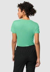Jack Wolfskin - TECH - Basic T-shirt - pacific green - 1