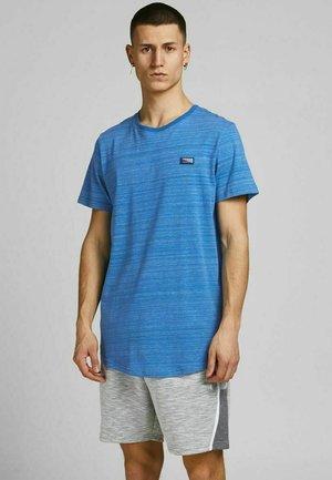 SLIM FIT - Print T-shirt - deep water
