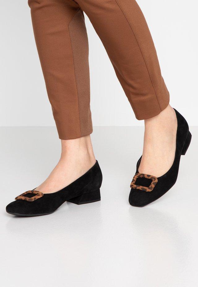 ZENDA - Classic heels - schwarz/sable