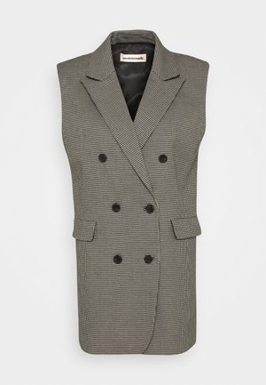 MAISY - Waistcoat - anthracite black