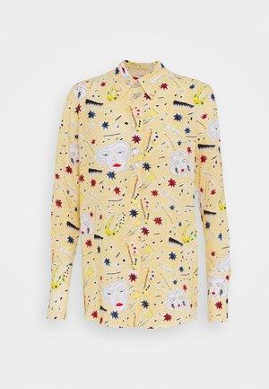 BUTTON DETAIL - Button-down blouse - multi coloured