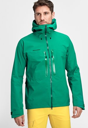 Outdoor jacket - deep emerald