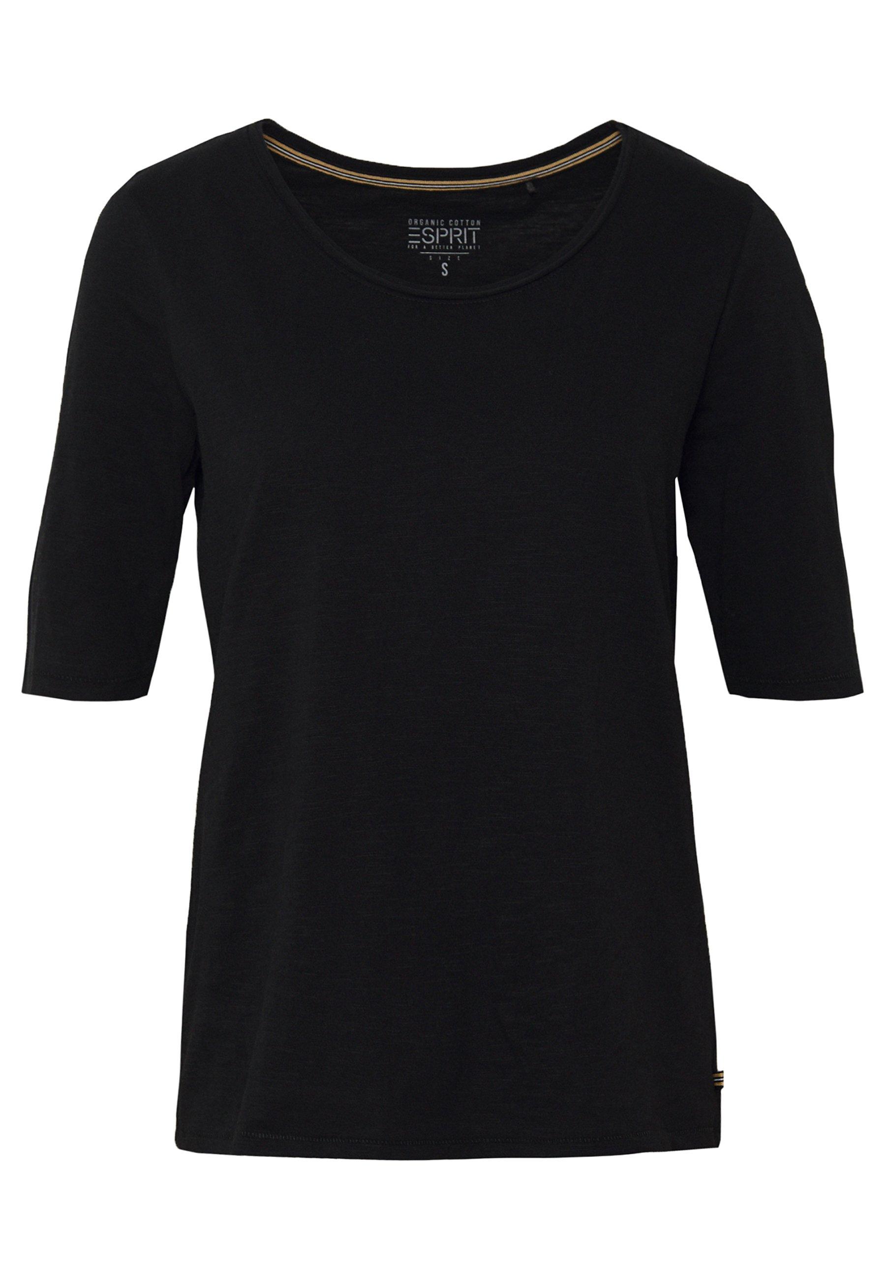Esprit T-shirts - Black/svart