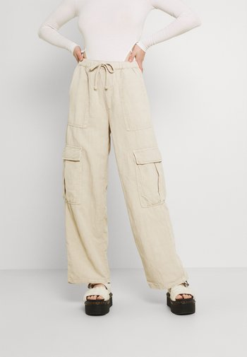 JESSYE LUCA PANT - Pantalon cargo - stone