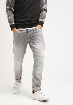 3301 TAPERED - Jeans fuselé - kamden grey stretch denim