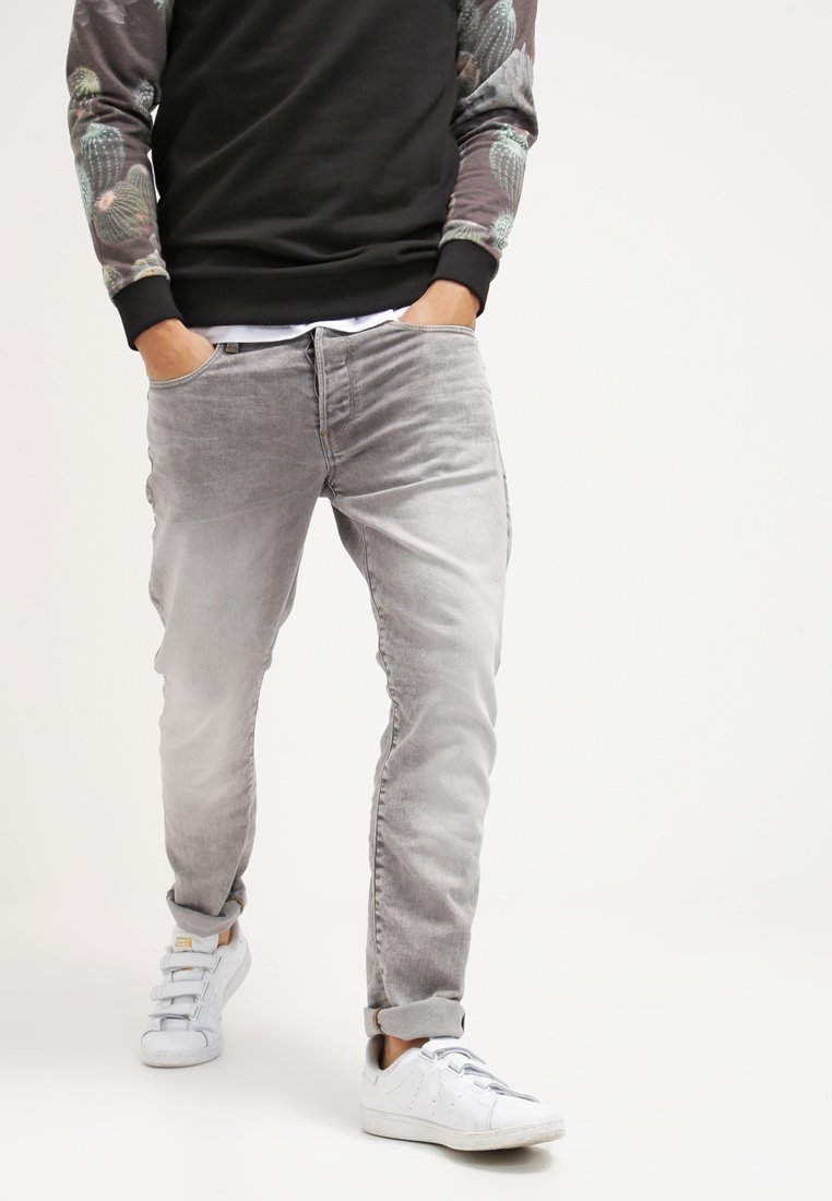 G-Star - 3301 TAPERED - Jeansy Zwężane - kamden grey stretch denim