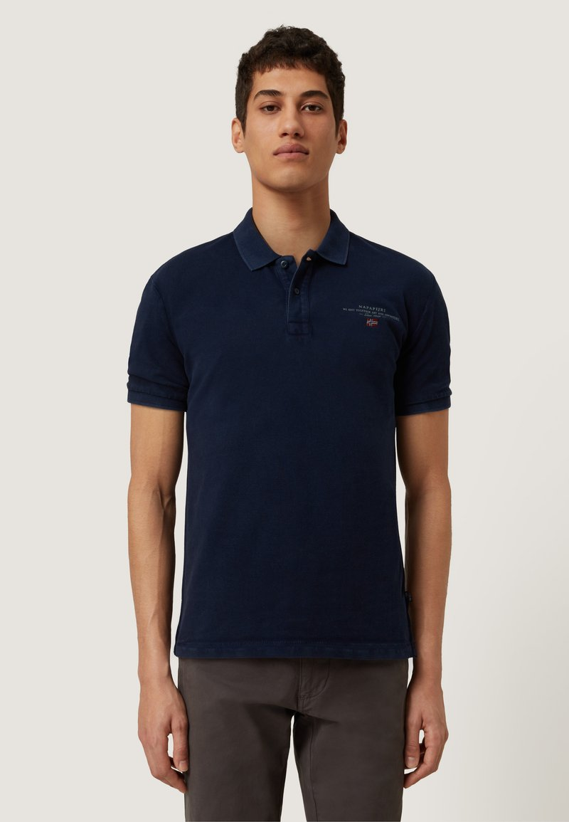 Napapijri - ELBAS - Polo shirt - blu marine