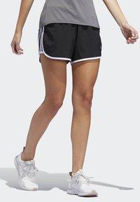 adidas Performance - MARATHON 20 SHORTS - Sportovní kraťasy - black - 3