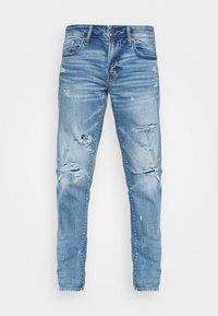 MEDIUM MENDED CLEAN TECH - Straight leg jeans - indigo shatter