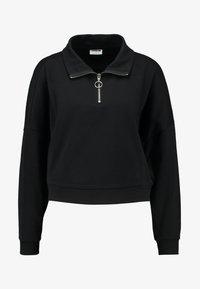 Noisy May - NMHALLY ZIP - Sweatshirt - black - 3