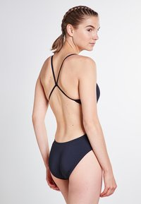 Nike Swim - CUT-OUT ONE PIECE - Swimsuit - black - 1