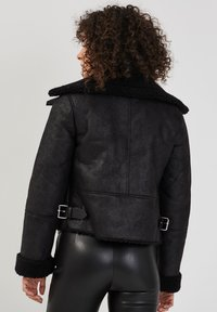 Cache Cache - ZWANGS SPIRIT - Leather jacket - noir - 2