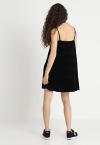 Urban Classics - LADIES VELVET - Day dress - black - 2