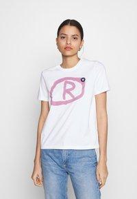 Wood Wood - MIA  - Print T-shirt - bright white - 0